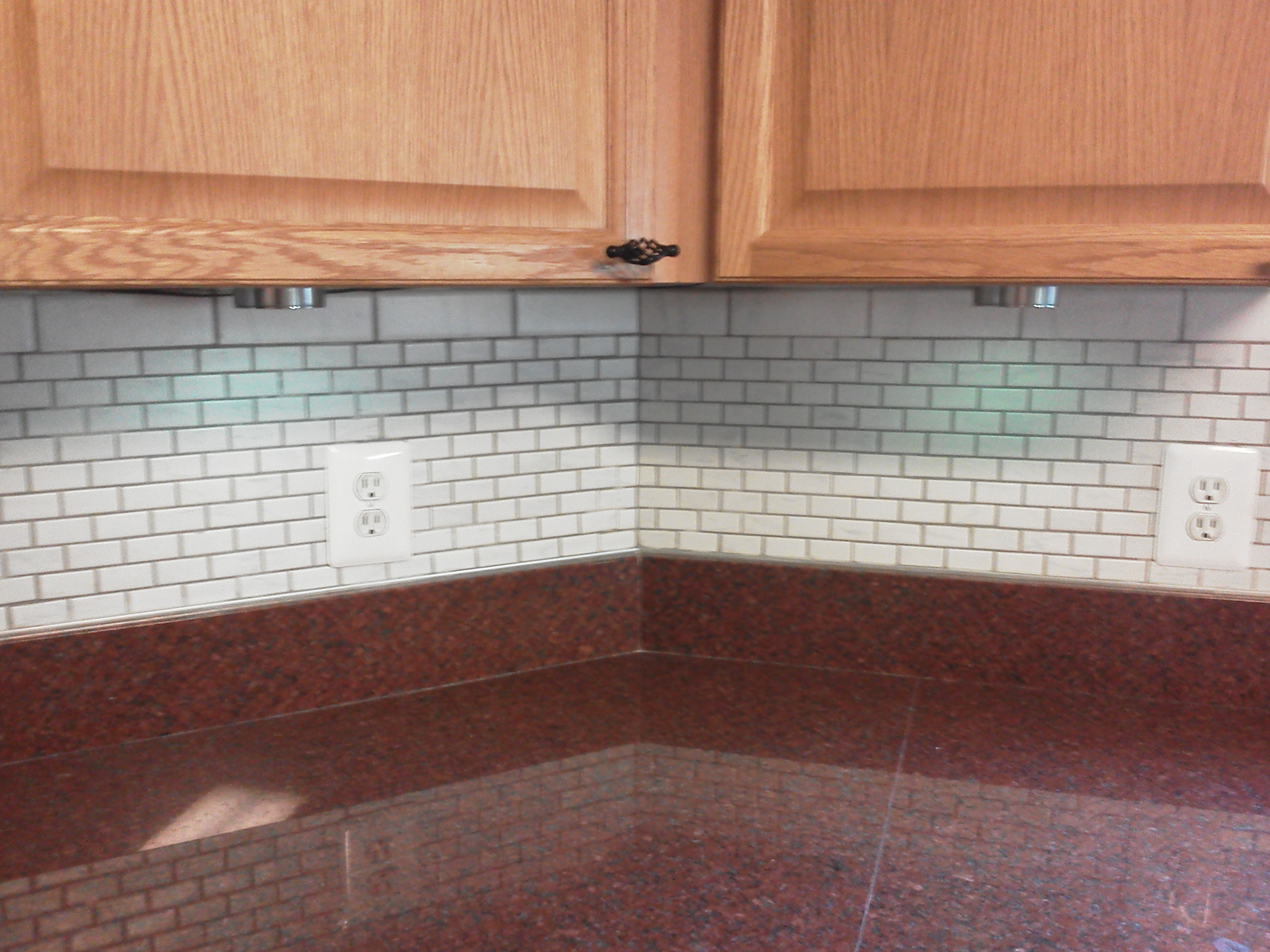 Subway Tile Kitchen Backsplash How ...