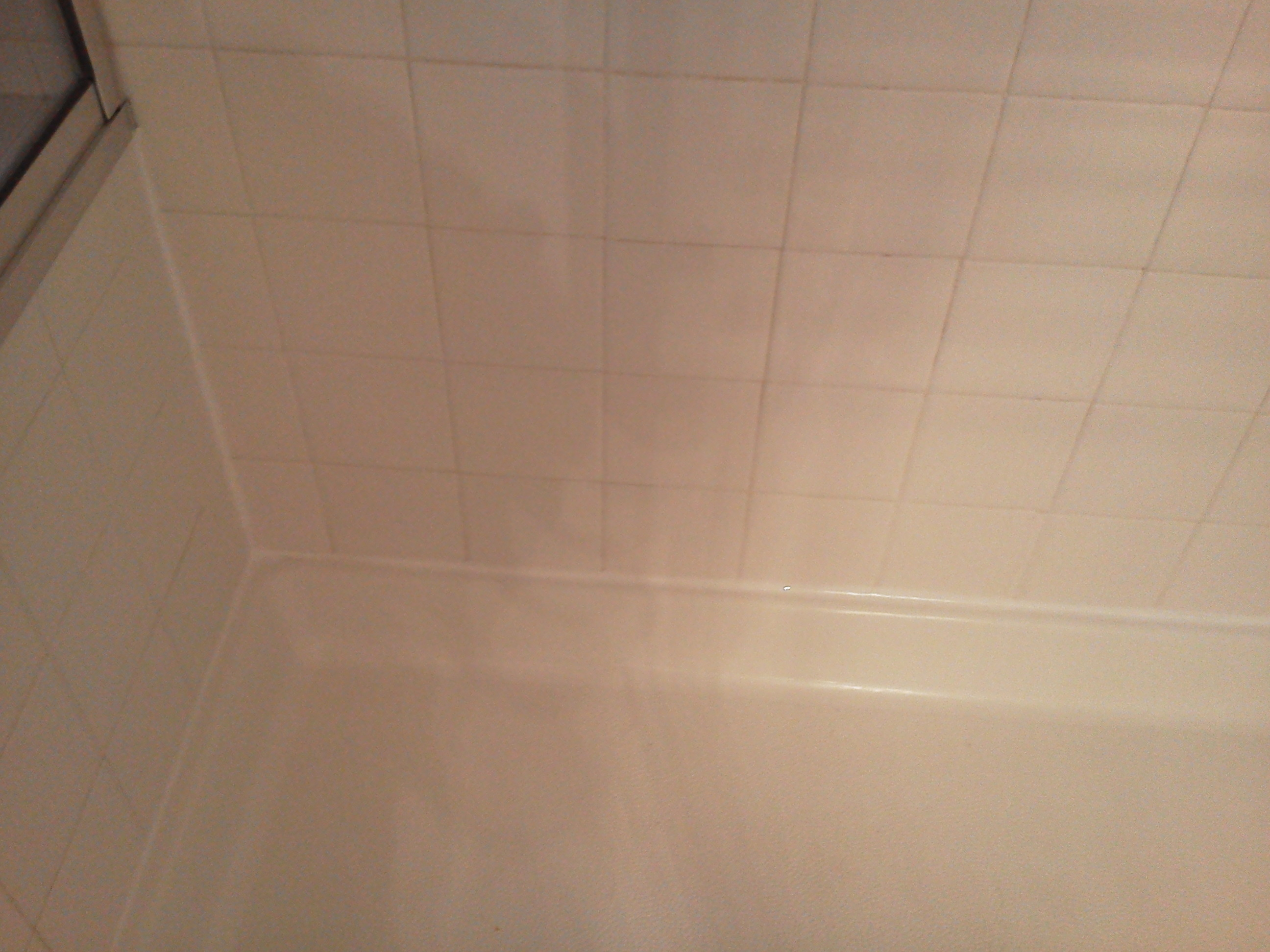 A minor shower repair could save thousands pristine tile carpet cleaning Caulking bathroom shower