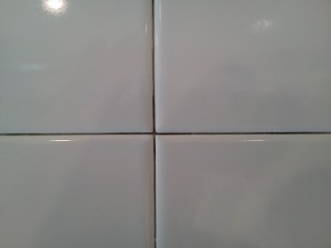 properly removed grout