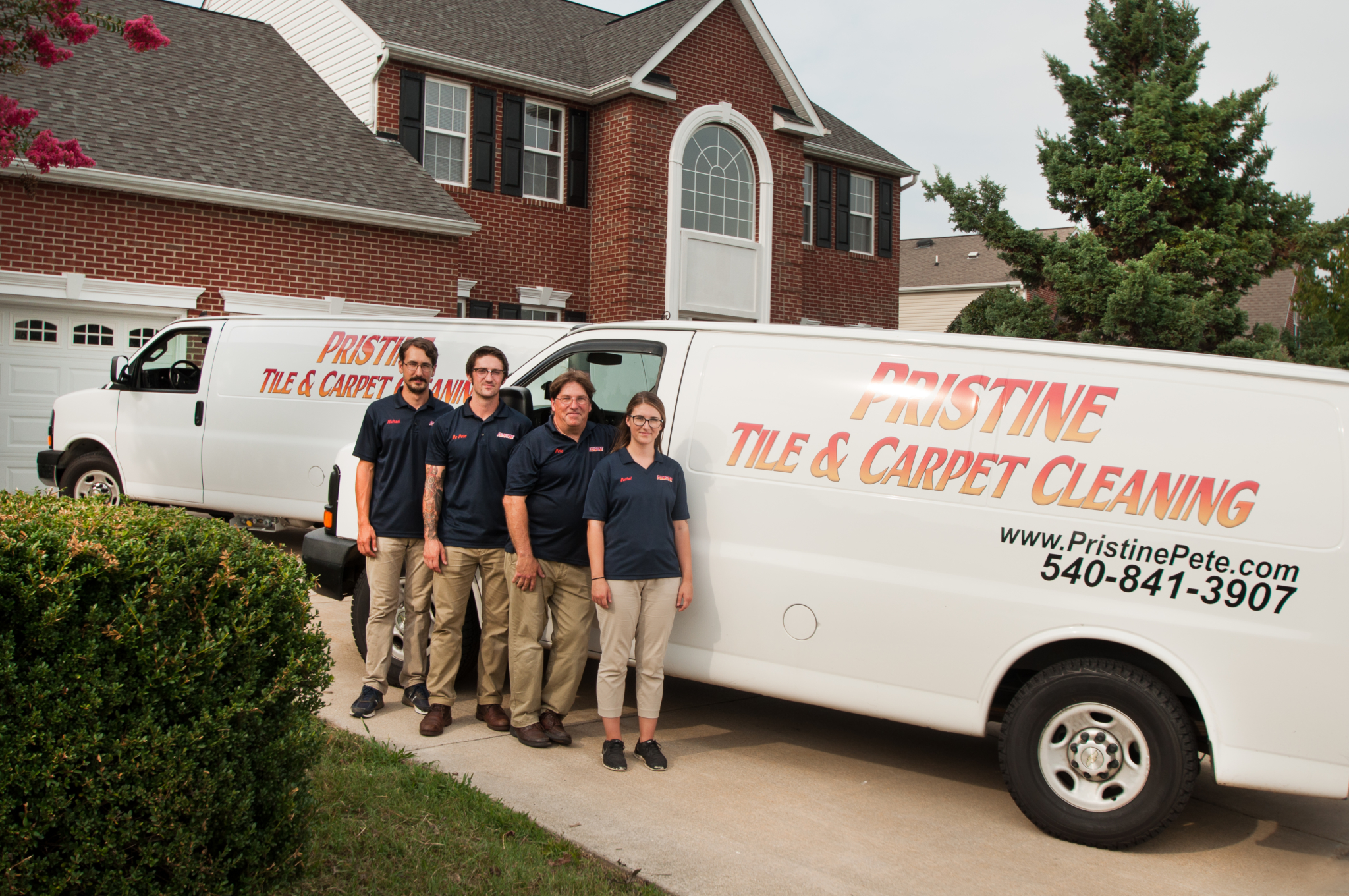 About Us - Pristine Tile & Carpet Cleaning