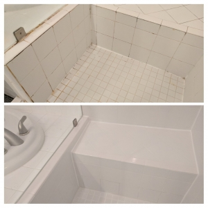 shower re-grout